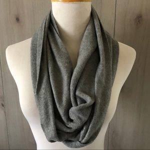 NWT OLD NAVY gray fleece INFINITY SCARF